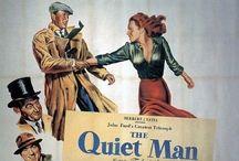 """THE QUIET MAN"" 1952 / Ireland - John Wayne + Maureen O'Hara = perfect!"