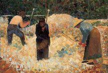 ART ~ SUERAT / Georges Suerat, French Post Impressionist, Neo Impressionist, Pointillist. 1859-1891. / by Karen Haskett