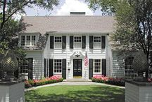 DUTCH COLONIAL HOME / Elements and inspirations for my Vintage Traditional Dutch Colonial dream house.