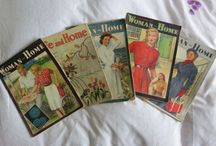 WOMEN & HOME vintage magazine covers / Love these covers from the 30's - 50's / by Karen Haskett