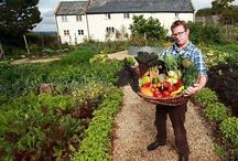 Hugh Fearnley-Whittingstall´s River Cottage farmhouse