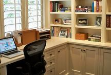 Office / Dwight's office.  / by Andrea Bennett