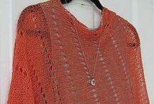Knit & Crochet PonchoS / KNIT AND CROCHET PONCHOS