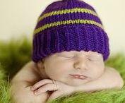 KNITTING Baby Hats