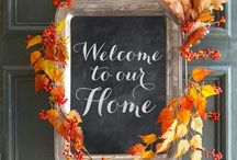 ~ MY HARVEST HOME ~ / Snug as a bug in rug... Ready for yummy fall cooking and fireside chats....