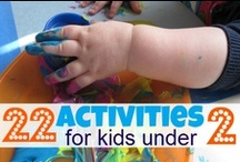 Toddler Activities / Kids activities that toddlers will love / by Jackie Higgins