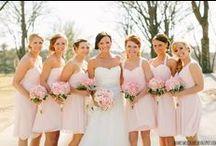 Wedding :: Bridesmaids / dresses. hair. jewelry.