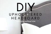 DIY :: Build + Paint / DIY tips, Organization ideas, etc.