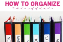 Get organized! Cleaning tips too!