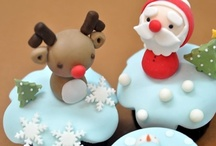 Christmas Cupcakes and Cakes