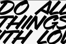 Typograf / typography + letterforms