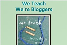 We Teach: We're Bloggers / We Teach: We're bloggers members share their best teaching tips and blog posts! / by Jackie Higgins