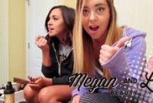 behind the scenes // interviews / by Megan & Liz