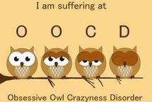 Owls / Love their look & grandson loves them.