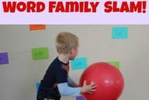 Word Study: Word families / Word Study, Word Work, Phonics Lessons focusing on CVC word families for early literacy groups. / by Jackie Higgins