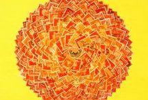 Postage Stamp Art Ideas / by Kelly Stern