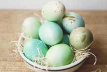 Hoppy Easter / Fun ideas for your Easter morning along with a few pieces that we hope that Easter Bunny would deliver!