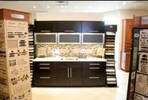 Showroom Display / Kabinet King showroom displays. We have everything necessary to create your dream kitchen!