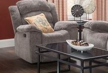 Recline in Style / Sit back, relax and enjoy timeless comfort.