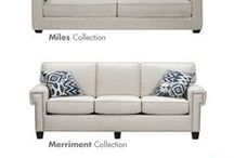 Decorating with White / White pieces are classic and complement any decor.