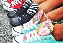 Chucks / Cute ways to wear chucks