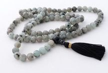 My malas / The malas I make since 2009 and sell on Etsy since 2011.