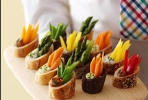 Reception - Event Food and Beverage ideas / Visit our other Boards dedicated to EVERYTHING WEDDING