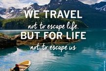 Travel - General / Various travel tips and guides and travel quotes