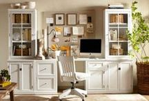Dream Home - Office & Library / Home offices, home libraries, craft rooms, books and desks