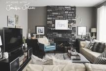 {home} living spaces / by Stephanie Rochford