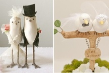 Top It Off - Wedding Cake Toppers / Visit our other Boards dedicated to EVERYTHING WEDDING