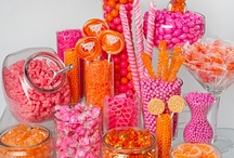 Love Is Sweet - Candy Table Displays/Ideas / Visit our other Boards dedicated to EVERYTHING WEDDING