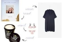 Wednesday Wishes / A weekly wishlist, from paperbagblog
