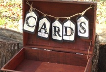 A Place for Everything - Wedding Card Holders & Gift Tables / Visit our other Boards dedicated to EVERYTHING WEDDING