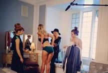Behind The Scenes  / Here's a sneak peek at what goes on behind-the-scenes at underwear fashion shows and photo shoots.  / by Jockey