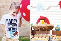 Angry Bird Party / by Liz McAfee