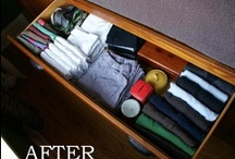 Keeping it Clean (and organized) / Cleaning and organizing tips