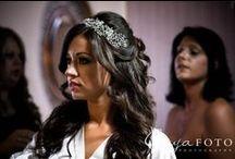 Bridal Hair / www.anyafoto.com bridal hair, wedding hair, bridal hairdo  nj&nyc wedding photographer