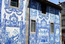 //Azulejos// / La manie des jolis carreaux de faïence peints / by Marion Gaillien