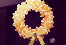 Crafts For Halloween / Thanksgiving / Halloween and Thanksgiving crafts and decorating