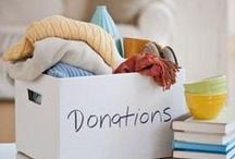 Donation Wish Lists & Ideas / WHO GOES TO A FOOD BANK?  Picture a homeless man, an elderly woman or a single mom with three kids but not just babies: a toddler, a second grader and a fourteen-year-old.
