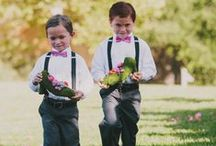 Flower Girls & Ring Bearers / Adorable accents for the precious flower girls and ring bearers in your wedding. / by Noonan's Wine Country Designs