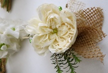 Flowers to Wear / Inventive ways to create personal wedding flowers including boutonnieres and corsages in a new look. / by Noonan's Wine Country Designs