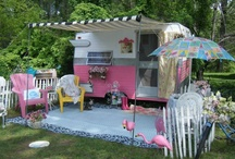Pink Trailers / by Cassandra Rose-Barnett