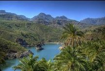 Gran Canaria Lakes/Mountains / The lakes and mountains areas of Gran Canaria in The Canary Islands, Spain.  You may well be surprised at how lush and green the island can be ;)
