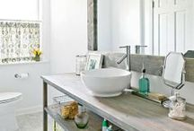 home: bathrooms / by Jenna Stoller