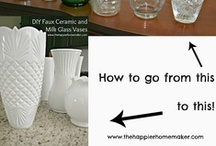 DIY (Improvments) / Things in your home that may need a littke extra flare.