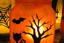 Halloween  / Halloween decorating and crafting ideas / by Mira Dimitrijevic