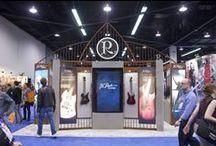 B.C. Rich at NAMM 2014 / National Association of Music Merchants in Anaheim, California