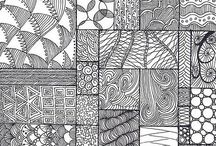 Doodles and Zentangle
